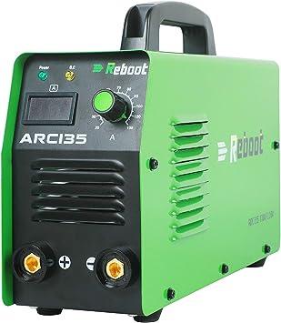 ARC Welding Machine IGBT Digital 110V//220V Reboot ARC140 Portable Stick ARC Welder Dual Voltage High Frequency Duty Cycle Inverter Digital Display Welding for 1//16-1//8in Electrodes Beginner Welding