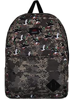 Amazon.com  VANS - Vans Womens Backpack - Dalmation - Black White ... ccefe316313b7