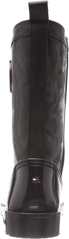 Bottes /& Bottines de Pluie Femme Tommy Hilfiger Shiny Camo Rain Boot
