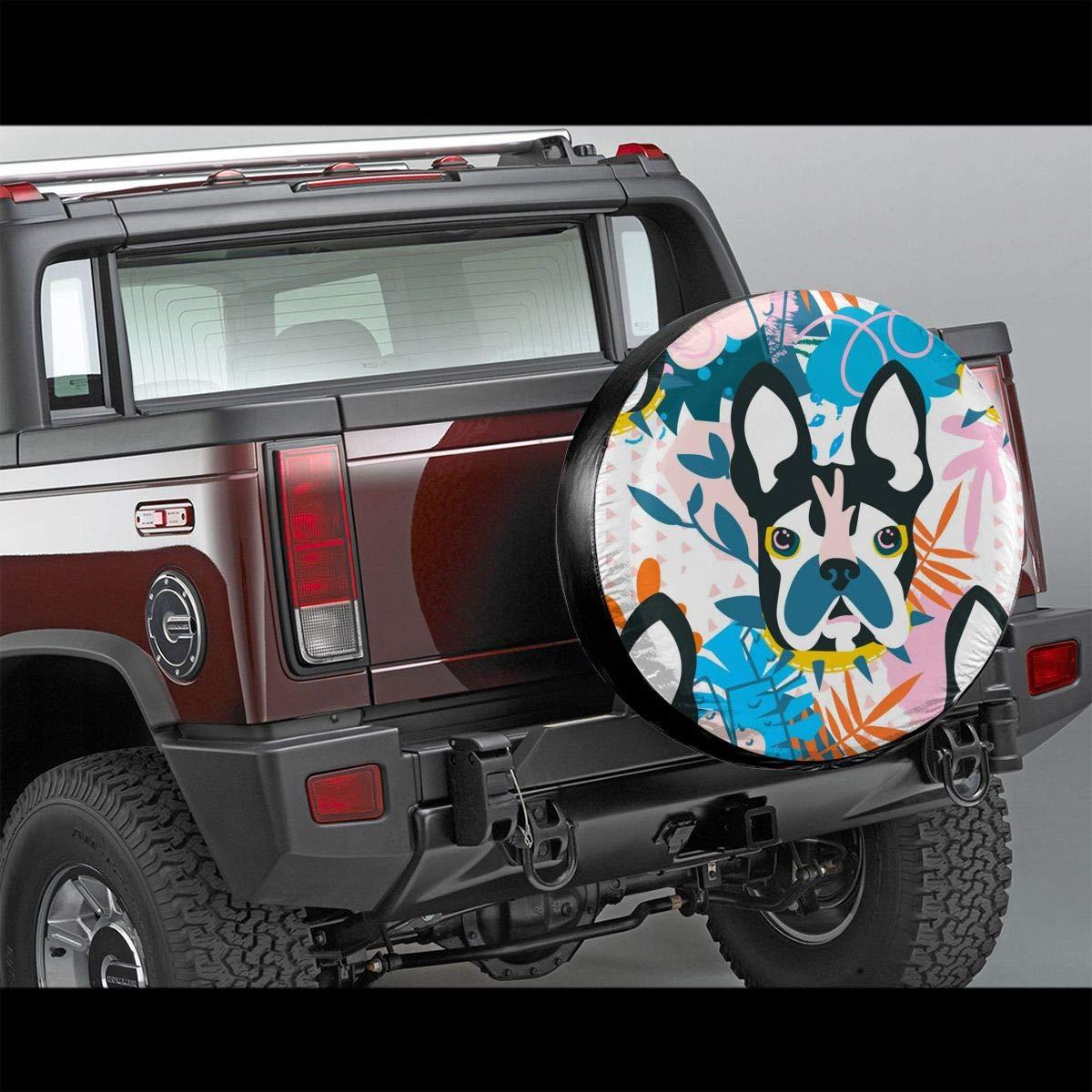 opi 90iuop Lupo ululante Potabile in Poliestere Ruota di scorta Universale Copriruota per rimorchio Jeep RV SUV Camion Camper Rimorchio da Viaggio 14,15,16,17 Pollici