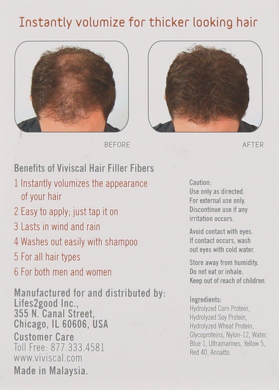 Amazon Viviscal Hair Filler Fibers Grey Beauty