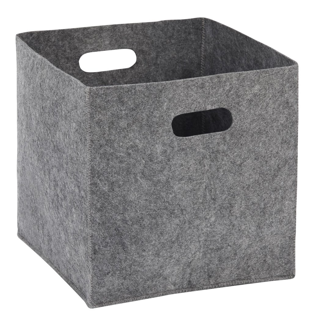 Mamas & Papas Nursery Basket, Grey Felt 752746800