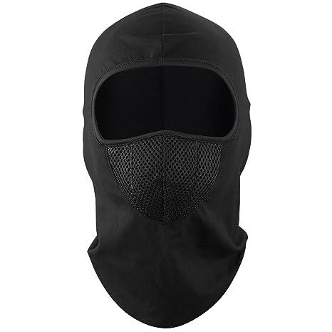 b501f1a1fafb Dafunna Cagoule Balaclava Cache-Cou Masque Tour de Cou Coupe-Vent en Tissu  Polaire