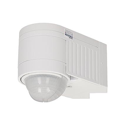 Orno Detector de Movimiento con 3 sensores y 3 Montaje Tipos, 1 Pieza, Blanco