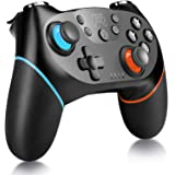 Wireless Pro Controller Compatible with Switch, YCCTEAM Remote Gamepad Pro Controller with Gyro Axis, Turbo and…
