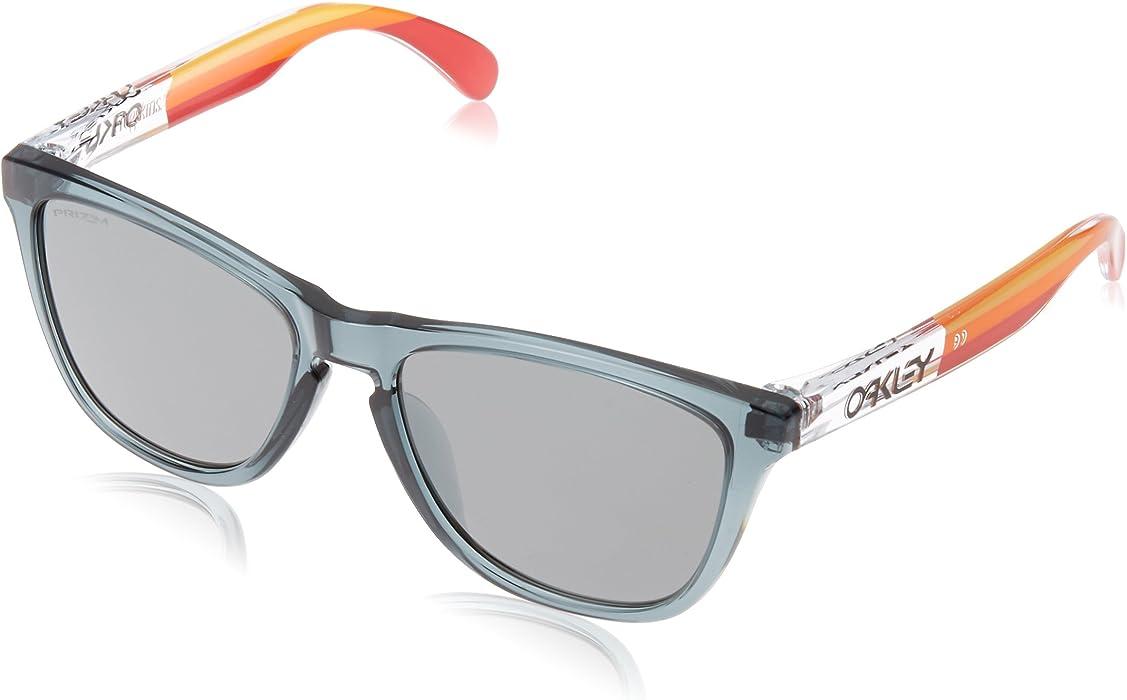 5eb48cf706 Amazon.com  Oakley Men s Frogskins Asian Fit Sunglasses