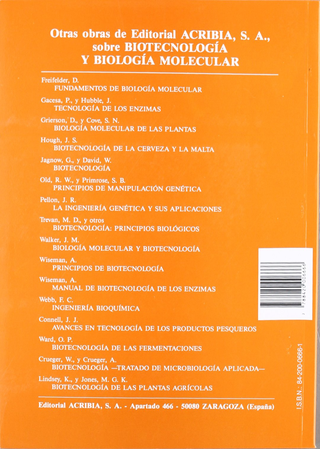 Introducción a la biotecnología: Amazon.es: M. C. Brown: Libros