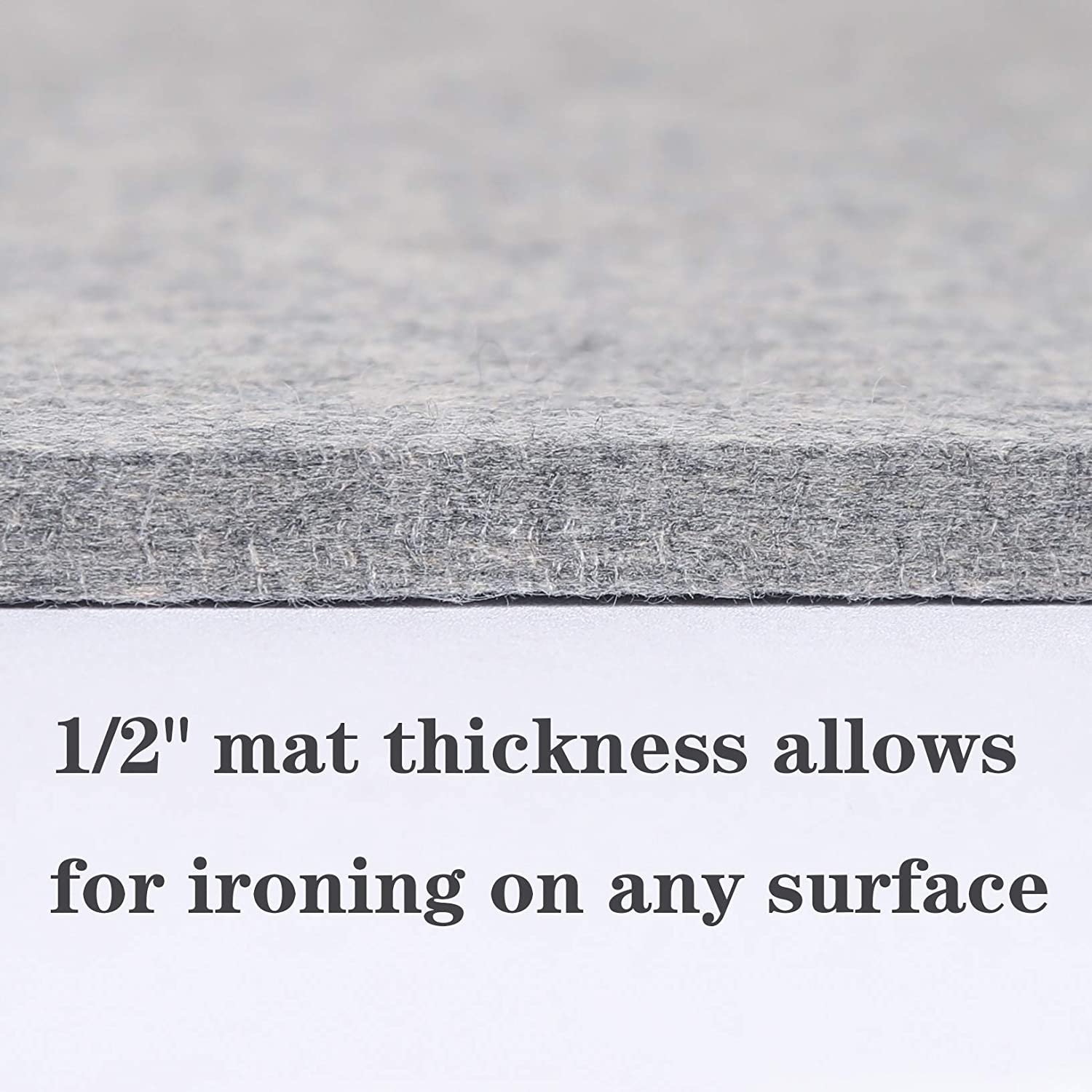 100/% New Zealand Wool Pressing Mat Perfect for All Ironing Station 2 Pack of 13.4 X 17 Wool Ironing Pad for Quilting