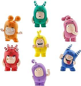 Oddbods Toy Set of Mini Figurines for Preschool Kids (Ages 3+)