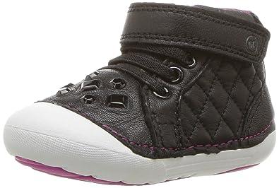 Stride Rite Girls Soft Motion Jada Ankle Boot Black 6 Wide Us Toddler