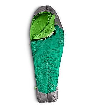 The North Face Snow Leopard Saco de Dormir, Greener Pastures/Zinc Grey: Amazon.es: Deportes y aire libre