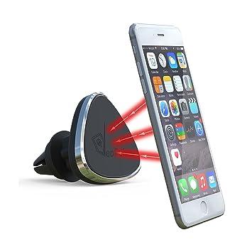 VeoPulse Support magnétique orientable pour telephone sur grille d aération  de voiture - universel   7cd58416ddf3