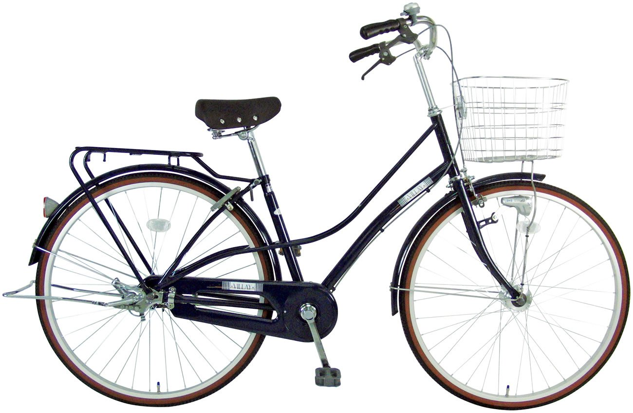 C.Dream(シードリーム) 美麗 VLY73-H 27インチ自転車 シティサイクル ネイビー 3段変速 100%組立済み発送   B0728NKPD5