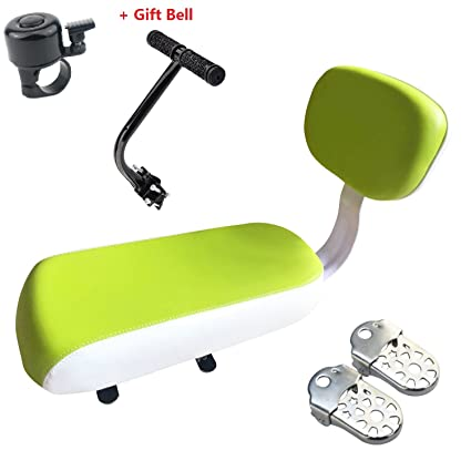 Bicycle Rear Seat Cushion Vey Bike Armrest Footrest Set Kid Child Carrier Bicycle Baby Seat Including Cushion And Backrest Armrest Handrail Footrests