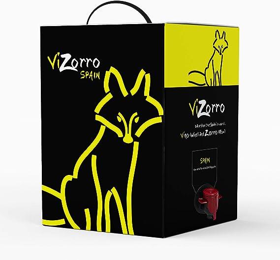 Bag in Box 10L I Vino Tinto Recomendado caja de vino tinto con grifo I Uvas Seleccionadas Vino de la Tierra de Castilla y León Con un Sabor Suave , Agradable y