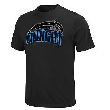 NBA Orlando Magic Dwight Howard famoso camiseta, hombre, negro, Medium