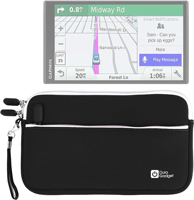 DURAGADGET Funda De Neopreno Negra para GPS Garmin DriveSmart 70 EU LMT-D: Amazon.es: Electrónica