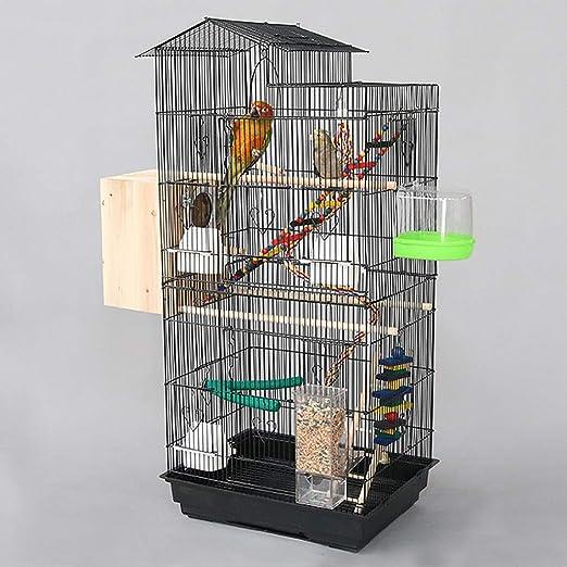 Mejore la falda de metal de la jaula de pájaros, la jaula de loros ...