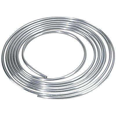 "Allstar ALL40185 1/2"" Diameter 25' Aluminum Coiled Tubing Fuel Line: Automotive"