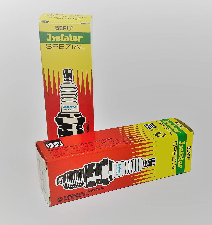 2er Set Isolator Zündkerze M14 X 260 Spezial Pass Für Alle Simson Z B S51 Sr50 Schwalbe Mz Etz Auto