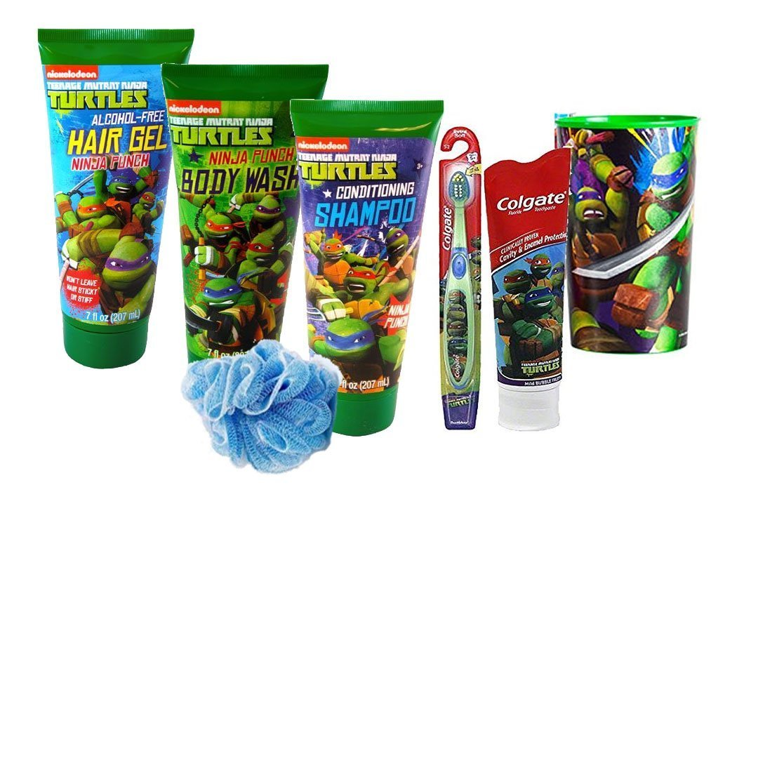 Teenage Mutant Ninja Turtles 7pc. Todo incluido