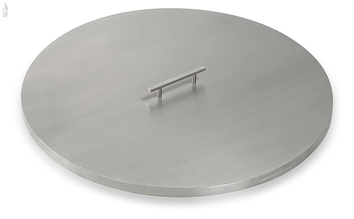 Amazon.com : American Fireglass Stainless Steel Fire Pit Pan Covers Round  (19 Inch) : Garden & Outdoor - Amazon.com : American Fireglass Stainless Steel Fire Pit Pan Covers