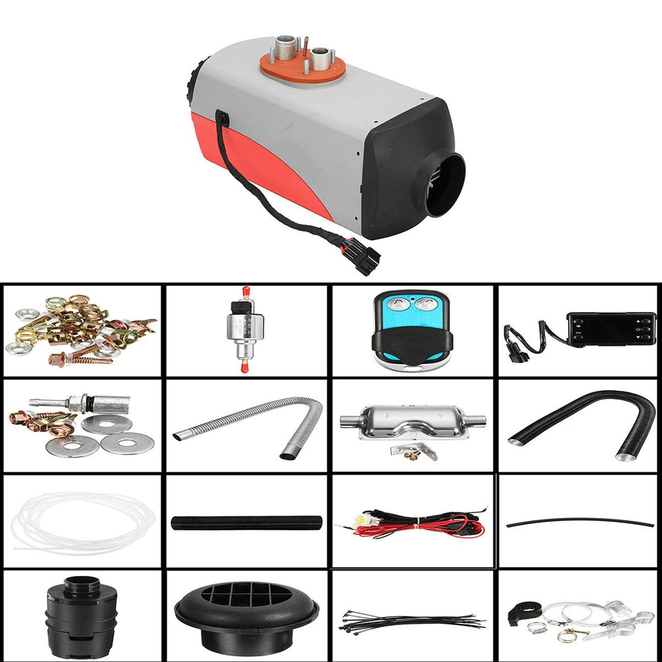 Easy Installation Low Noise Car Heater Diesel Air Heater 12V 5000W Air Heater