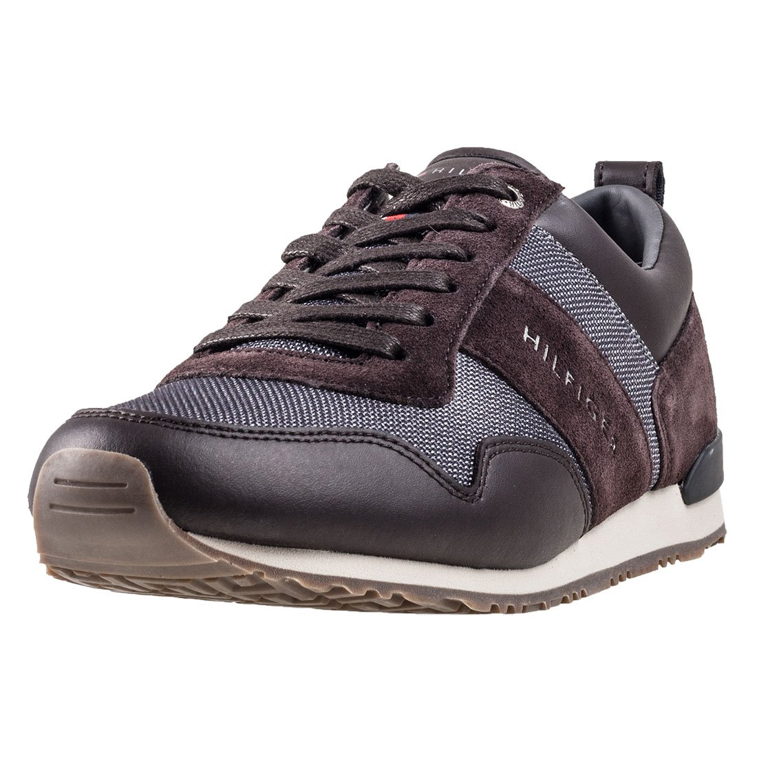 aaa062f3495b Tommy Hilfiger Maxwell 11c6 Mens Trainers Coffee Bean - 46 EU   Amazon.co.uk  Shoes   Bags