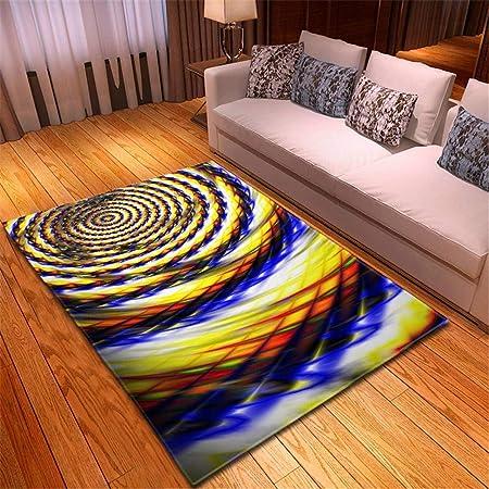 Kaafa Home Alfombra 3D Diseño Moderna Esponjoso Interior ...
