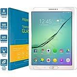 PREMYO vetro temperato Samsung Tab S2 9.7. Pellicola vetro temperato Tab S2 9.7 con una durezza di 9H e bordi arrotondati da 2,5D. Pellicola in vetro Samsung Galaxy Tab S2 9.7