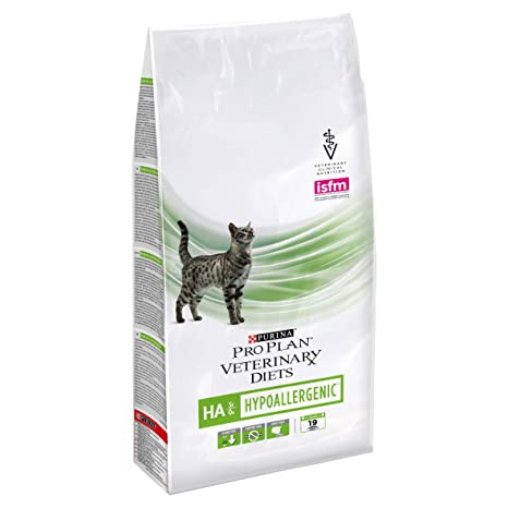 Pienso para Gatos Pro Plan Veterinary Diets de Purina, hipoalergénico HA St/Ox,