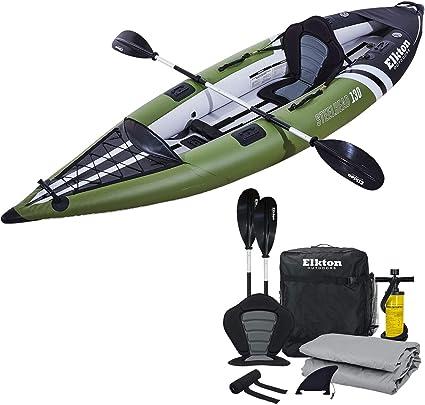 Amazon.com: Elkton Outdoors - Kayak de pesca con cabeza de ...