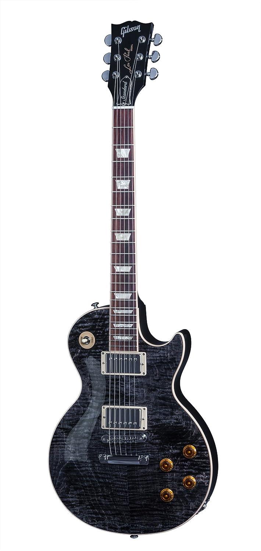 Gibson Les Paul Standard 2016 T - Guitarra eléctrica, color trans black: Amazon.es: Instrumentos musicales