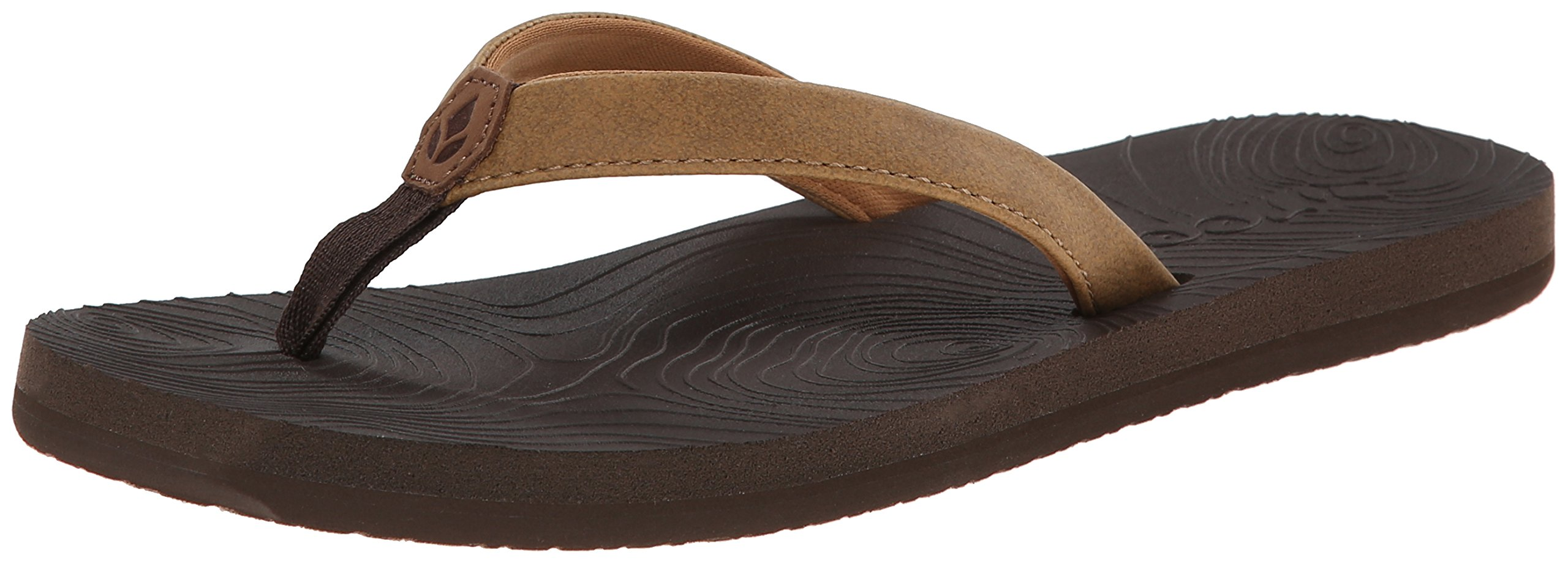 Reef Women's Zen Love Sandal,Brown Tobacco,8 M US