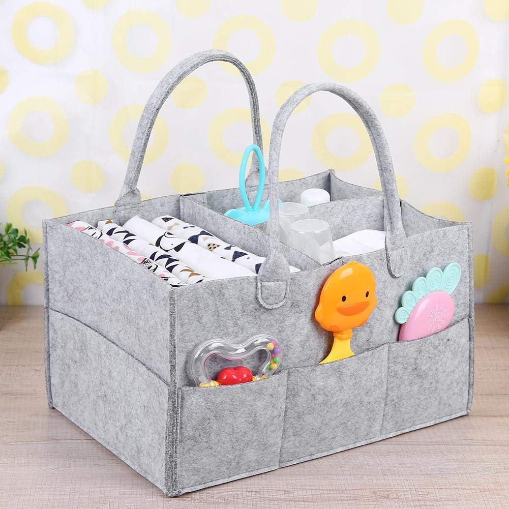 Silveroneuk Baby Diapers Nappy Changing Bag Mummy Bag Bottle Storage Maternity Handbags
