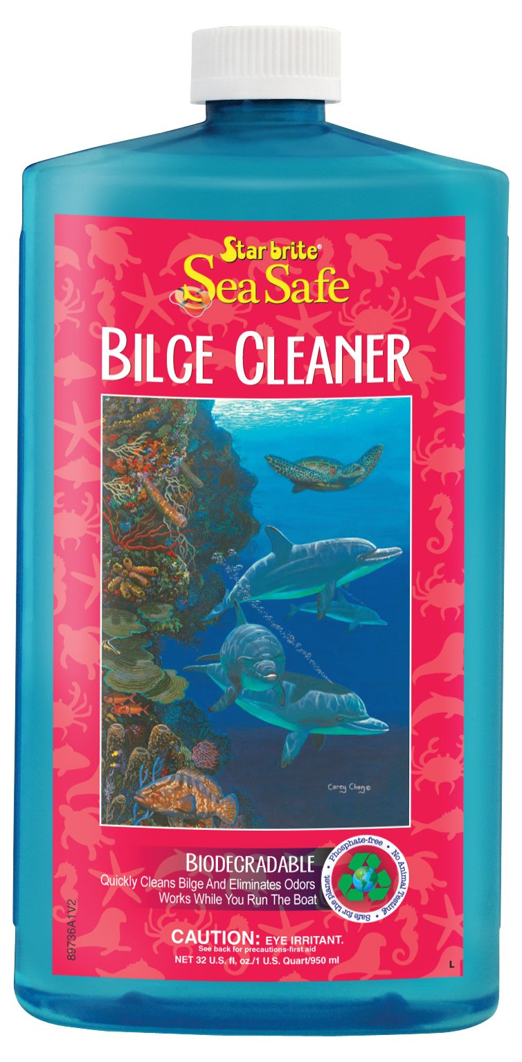 Star brite Sea Safe Biodegradable Bilge Cleaner, 32 oz
