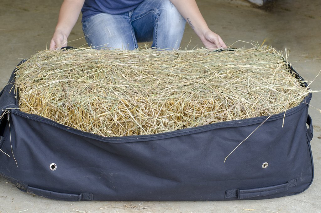 Derby Originals Waterproof Heavy Duty Rolling Hay Bale Bag with One Year Warranty - Ventilated to Maintain Hay Freshness 3