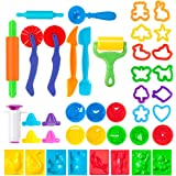 Pandapia Play Dough Tools Set with Molds Models 41 PCS