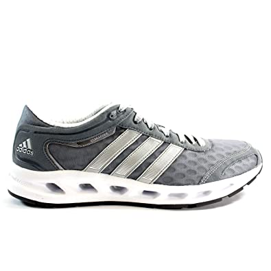 d44952579736 ... closeout adidas climacool solution running shoes lead silver white mens  12 89e11 741eb