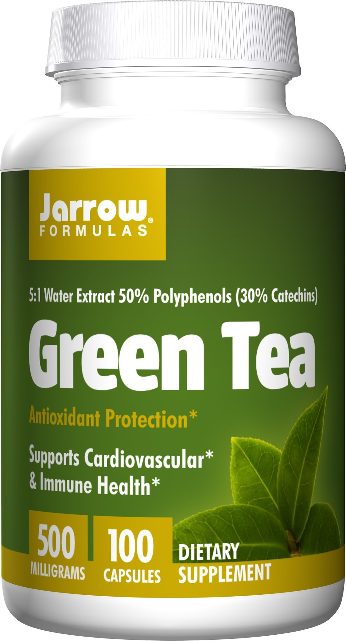 Jarrow Green Tea 5:1 500mg (100 Caps) (Multi-Pack)