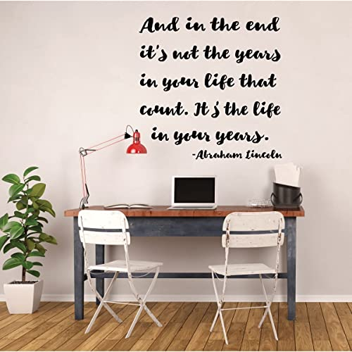 Amazon Inspirational Quotes Wall Sign Decor Abraham Lincoln Interesting End Of Life Quotes Inspirational
