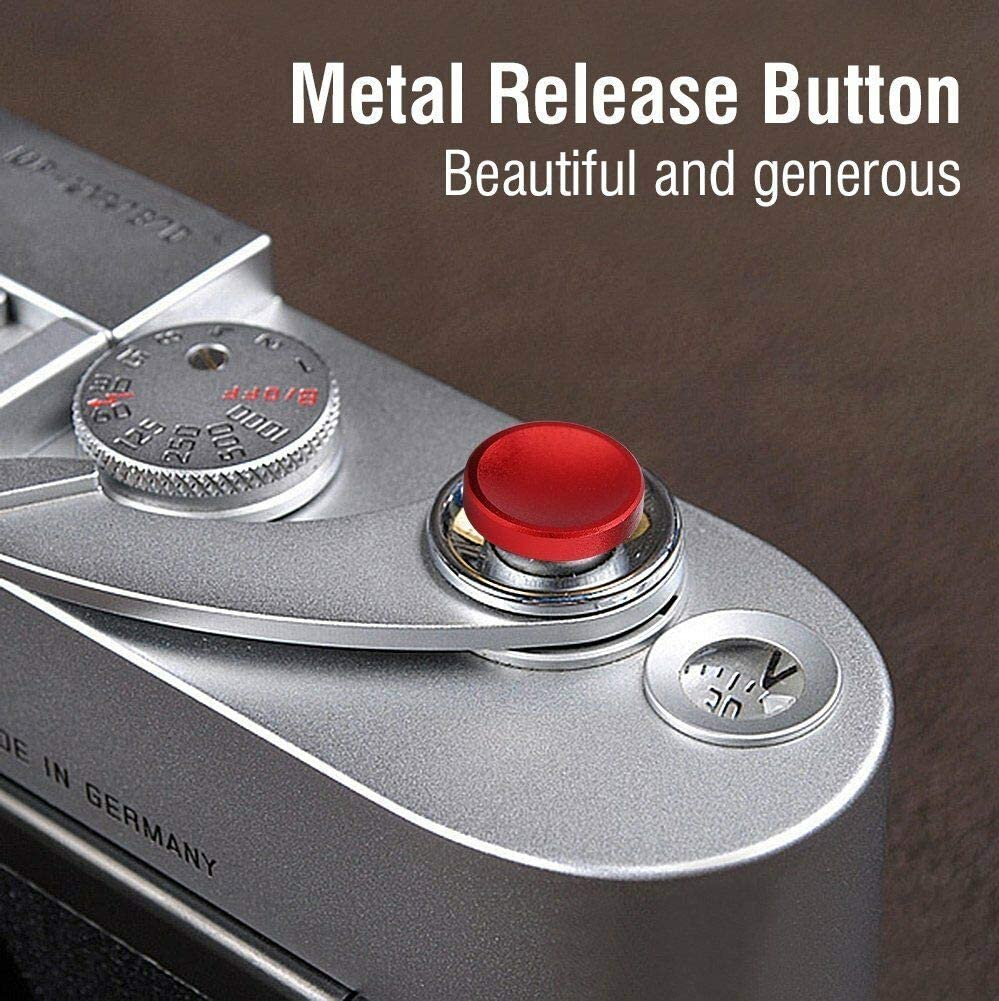 KLJKUJ 3pcs//Set Aluminium Alloy Camera Shutter Release Button for X100 X10 XPRO1 XE1