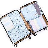 アレンジケース トラベルポーチ 6点セット スーツケース 軽量 防水 大容量 旅行 出張 整理用 収納 小分け バッグインバッグ 衣類