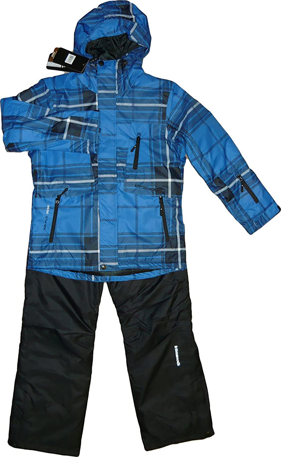 Kilmanock.Ski-Anzug, Gusty Ski Set Junior Air-flo 3000, Nautical Blue. 201389-1102