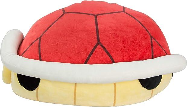 Oferta amazon: TOMY Club Mocchi Mocchi Nintendo Mario Kart - Peluche de Gorra roja de Mario, 40cm, T12961, Grande, para niños y Adultos, Regalo de cumpleaños Ideal para Fans de Mario
