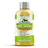 Pro-Pet Works All Natural Oatmeal Dog Shampoo and Conditioner