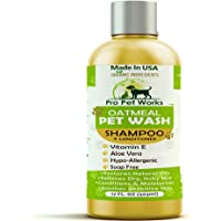 Pro Pet Works All Natural Oatmeal Dog Conditioner for Dogs, Cats and Small Animals…
