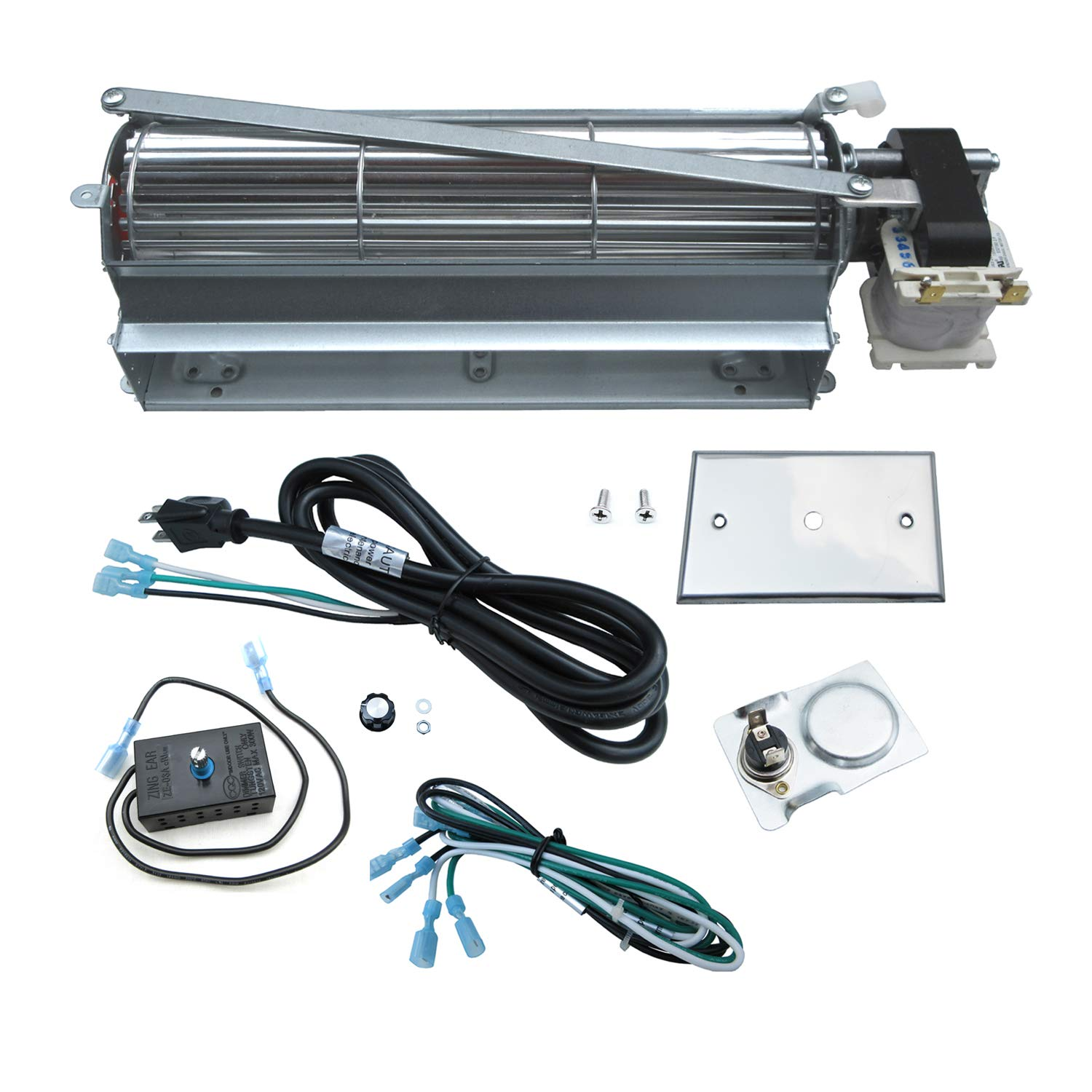 Direct store Parts Kit DN114 Fireplace Blower Kit FK4 GFK4 R7-RB74K HB-RB74K for Heatilator Rotom by Direct store