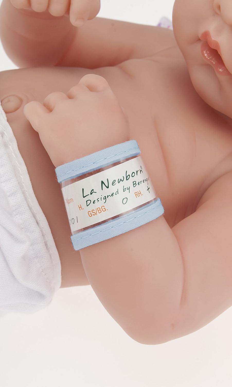 JC TOYS La Newborn Boutique - Muñeca de bebé realista de 35,5 cm anatómicamente correcta - todo el vinilo First Tear diseñado por Berenguer - Fabricado en ...