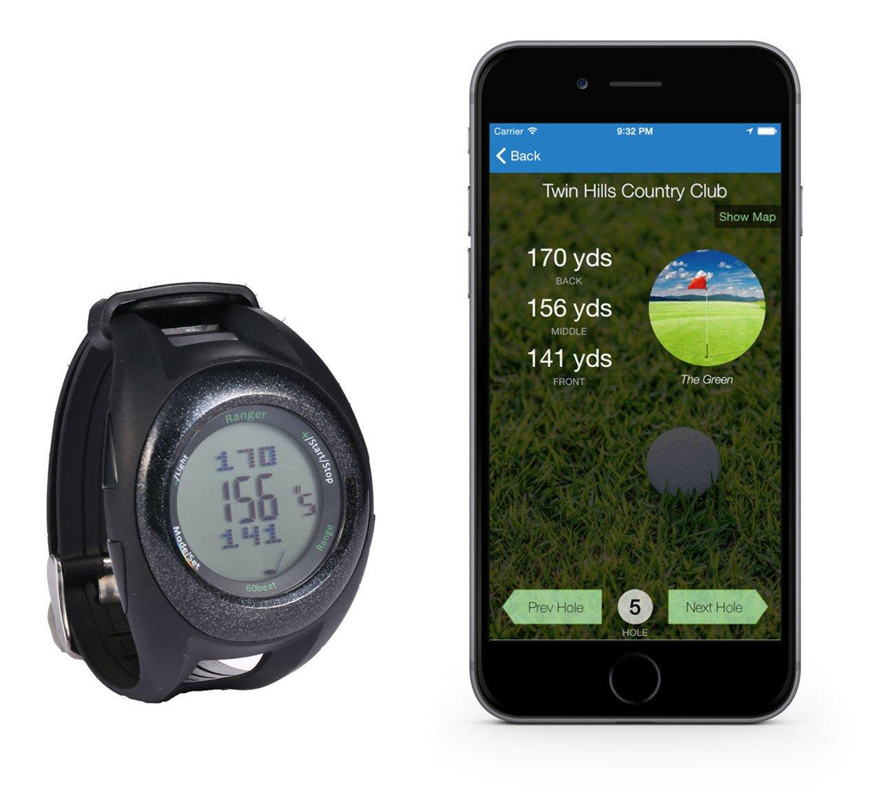 60beat Ranger GPS Golf Watch by 60beat